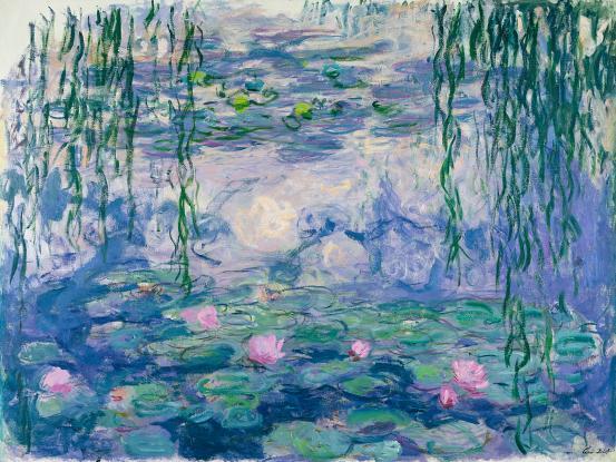 Monet's Garden at the NGV