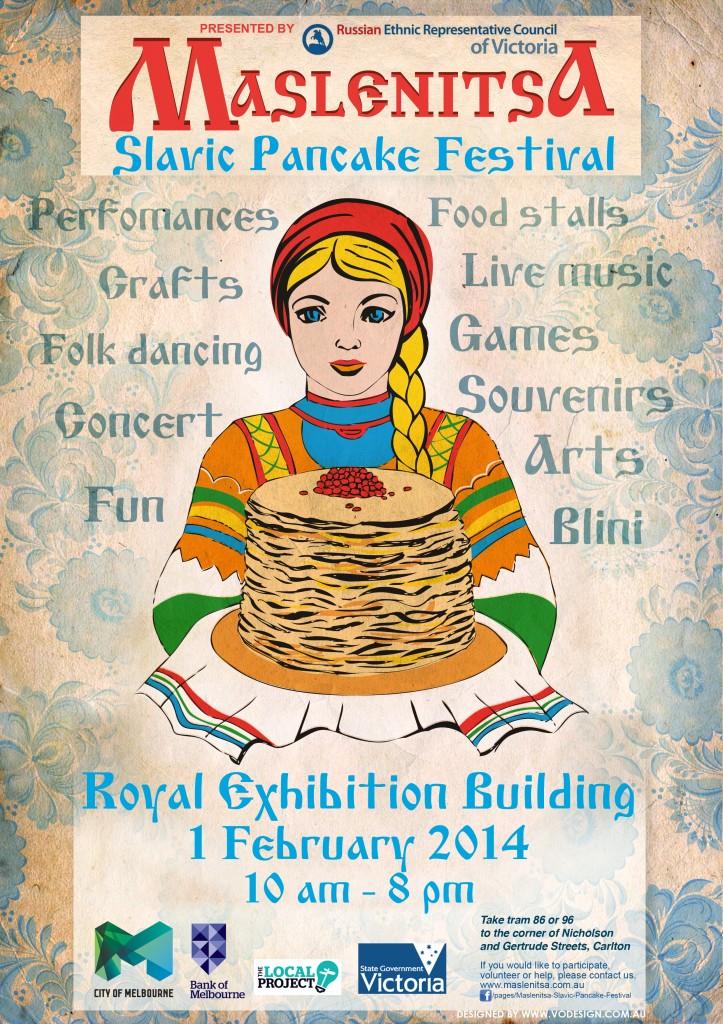 Maslenitsa 2014 Poster
