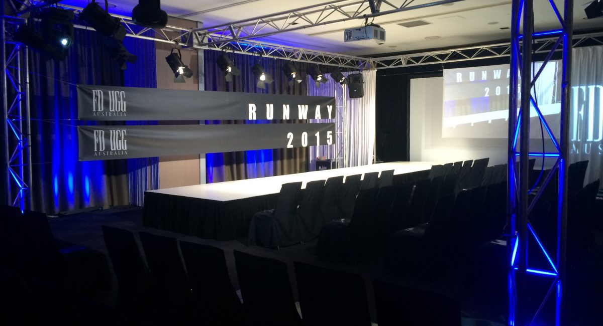 New Product – White Staging and Catwalks