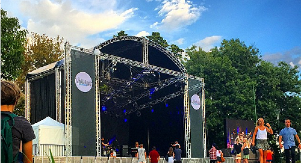 Why and What: Outdoor stage for events