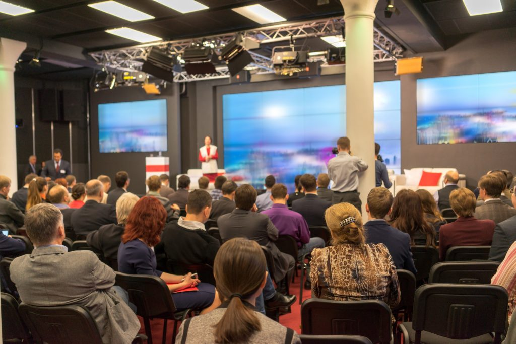 Business conference event